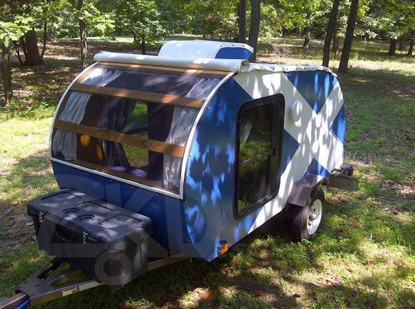 Homemade Teardrop Camper for Sale
