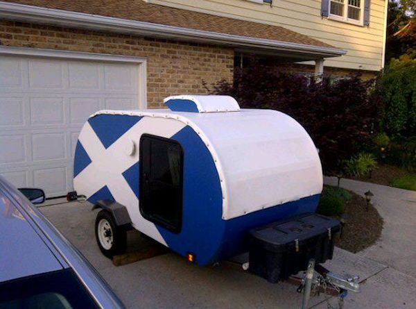 Zach S Homemade Diy Teardrop Camper And How To Build Your Own