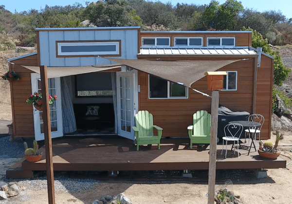Tiny House on Wheels by The Zen Cottages