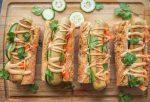 vegan banh mi hotdogs