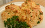 Cheddar Bay Biscuits on a plate