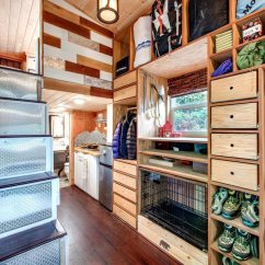L Type Small Kitchen Design Refacing Cabinets Before And After Basecamp By Backcountry Tiny Homes - Living