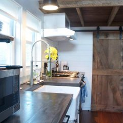 Kitchen Farm Sink Nautical Hardware Modern Farmhouse By Liberation Tiny Homes - Living