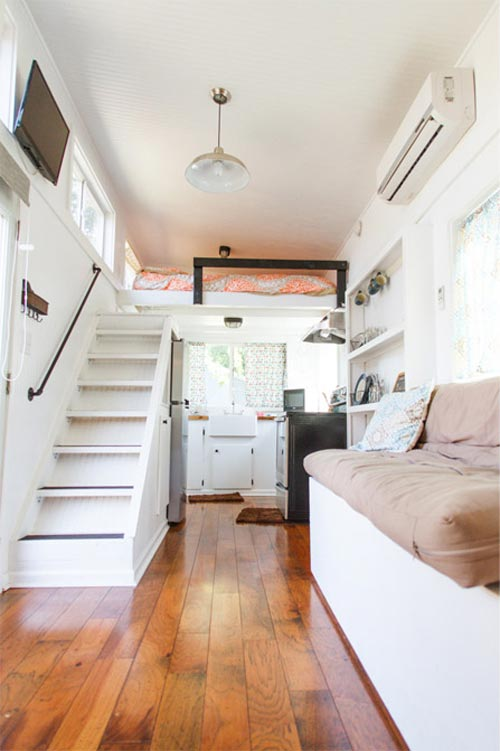 Music City Tiny House by Tennessee Tiny Homes  Tiny Living