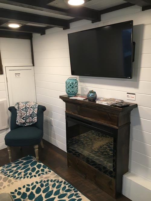electric chair heater hanging gumtree trinity by alabama tiny homes - living