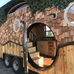 Lodge Sofa Clearance Sleeper Hobbit Hole By Incredible Tiny Homes - Living