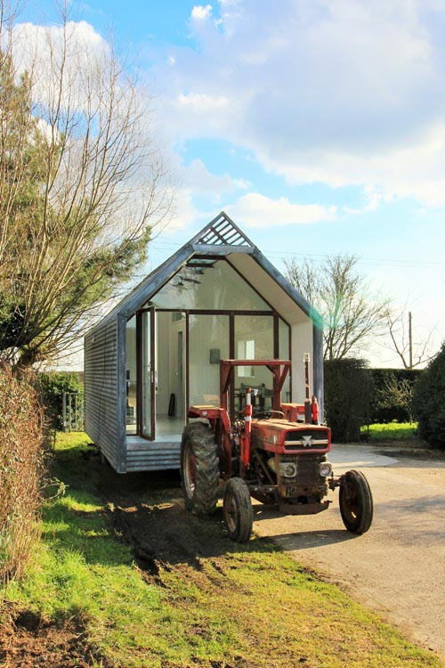 portable island kitchen honest cat food mini cabin by contemporary shepherds huts - tiny living