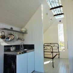 Zinc Top Kitchen Island Online Designer Mini Cabin By Contemporary Shepherds Huts - Tiny Living