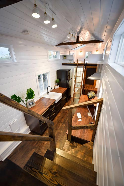 Tiny Modern House Interior