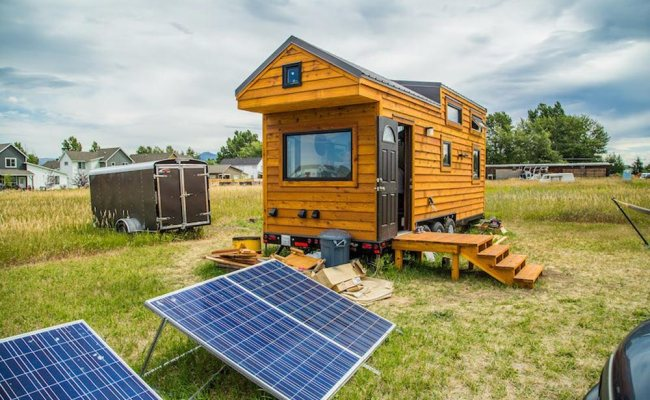 Bozeman Off Grid Tiny House Tiny Living
