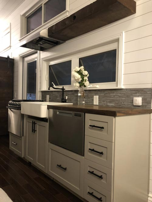 natural gas kitchen stove how to redo cabinets white house by sun bear tiny homes - living