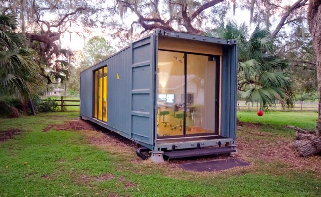 Hâb Shipping Container Tiny Home Tiny Living