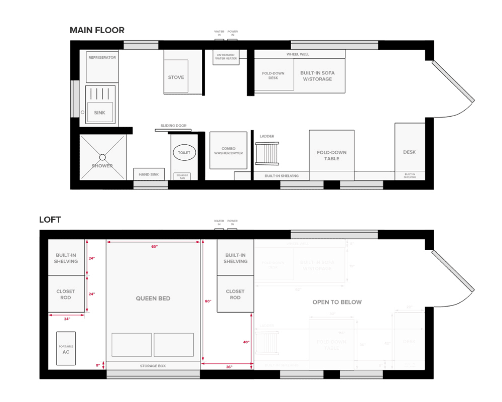 The Top 8 Tiny House Floor Plans [2020 Choosing Guide