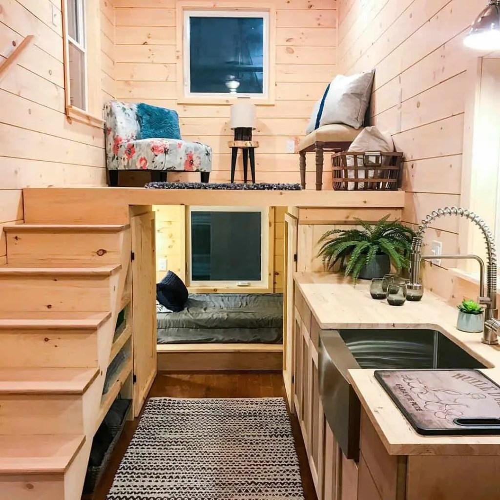 uniquely designed tiny home