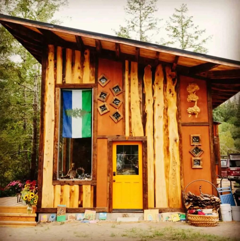 sustainable cabin