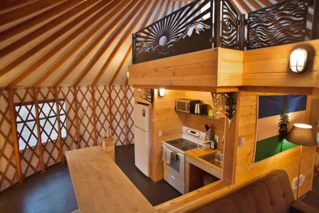 Pacific yurt kits