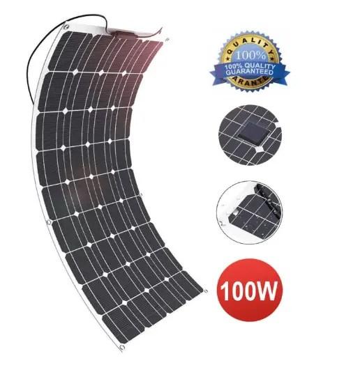 Solar Panel, GIARIDE 18V 12V 100W