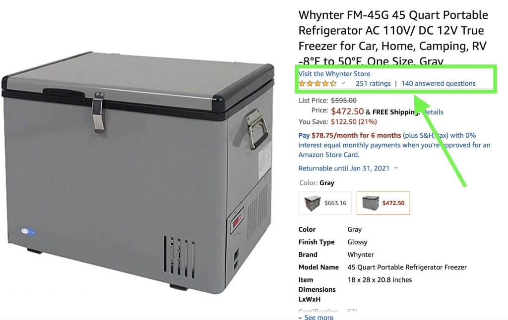 whynter solar refrigerator