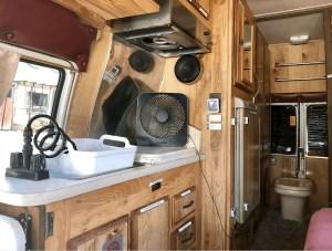 old school campervan rental
