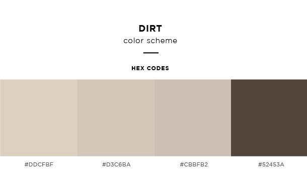 dirt color scheme