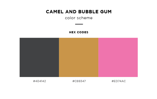 camel and bubble gum