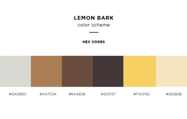 lemon bark color scheme