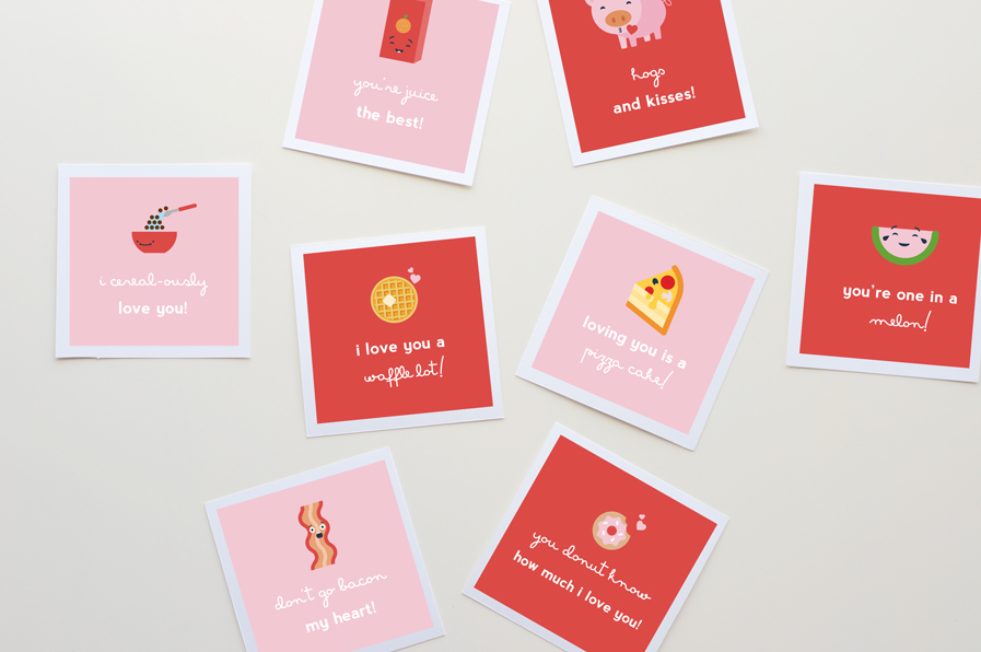 Free Printable Valentines Pun Cards