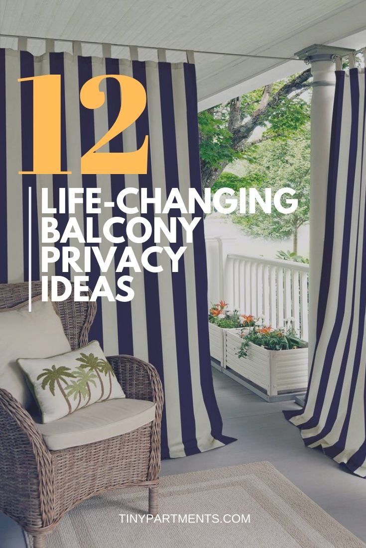 12 Life Changing Balcony Privacy Ideas Tiny Partments