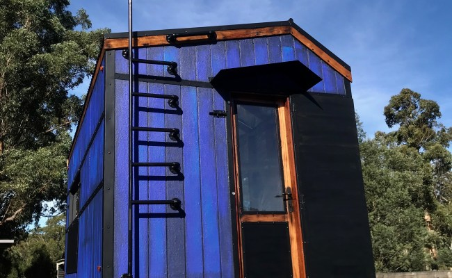 Bushfire Resistant Tiny House On Wheels Shell Only