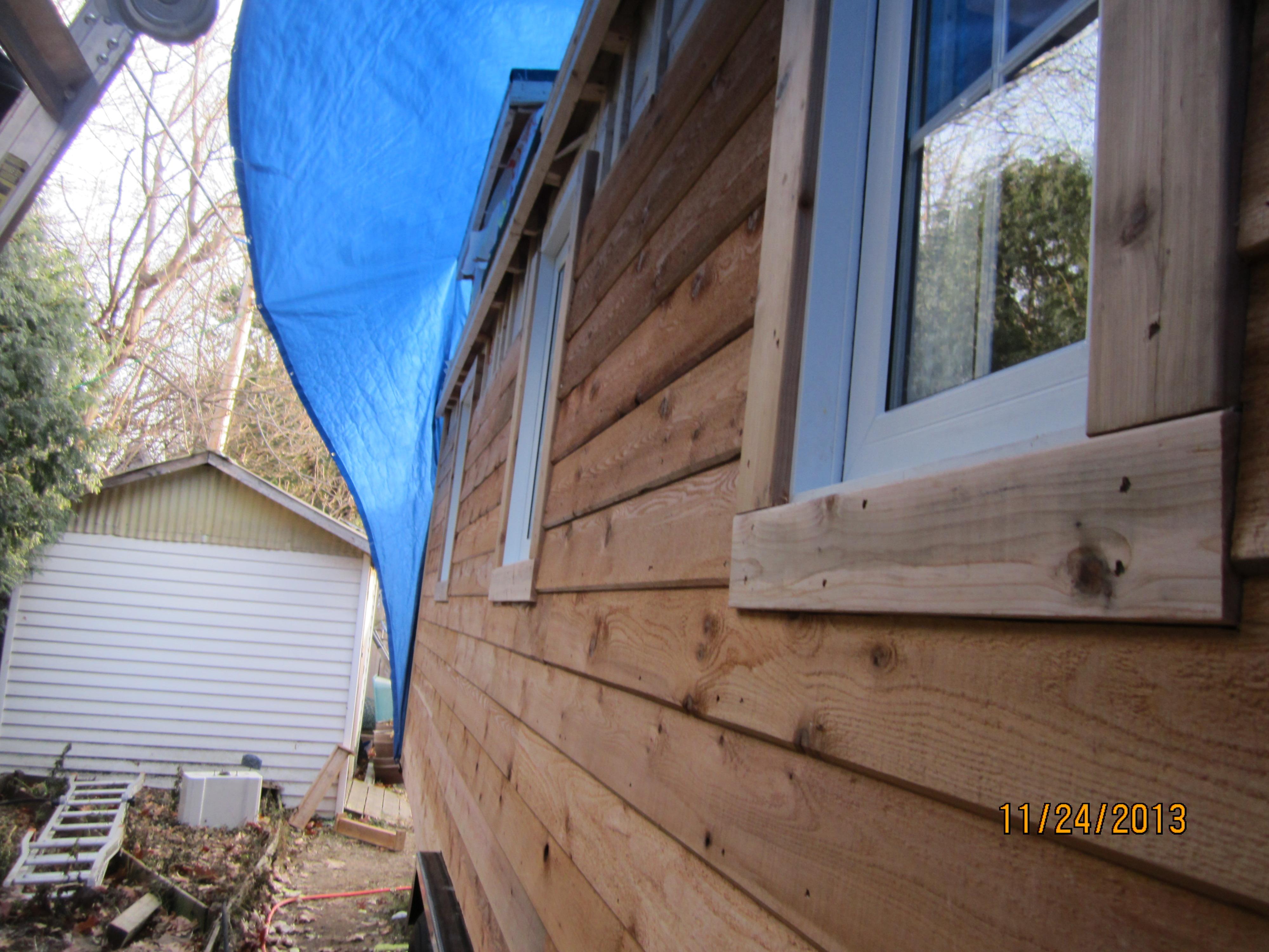 can i paint my kitchen cabinets freestanding island cedar lap siding | tiny refuge