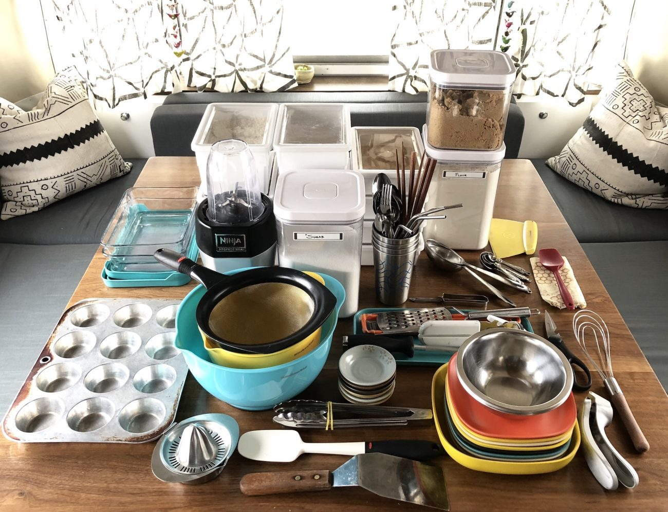 Whats In Our Kitchen  Tiny Shiny Home