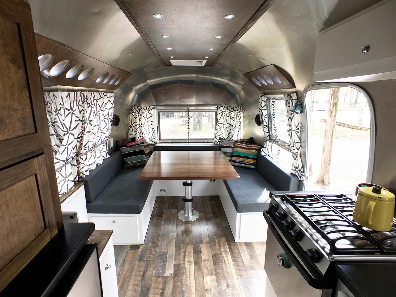 Airstream Renovation  Tiny Shiny Home