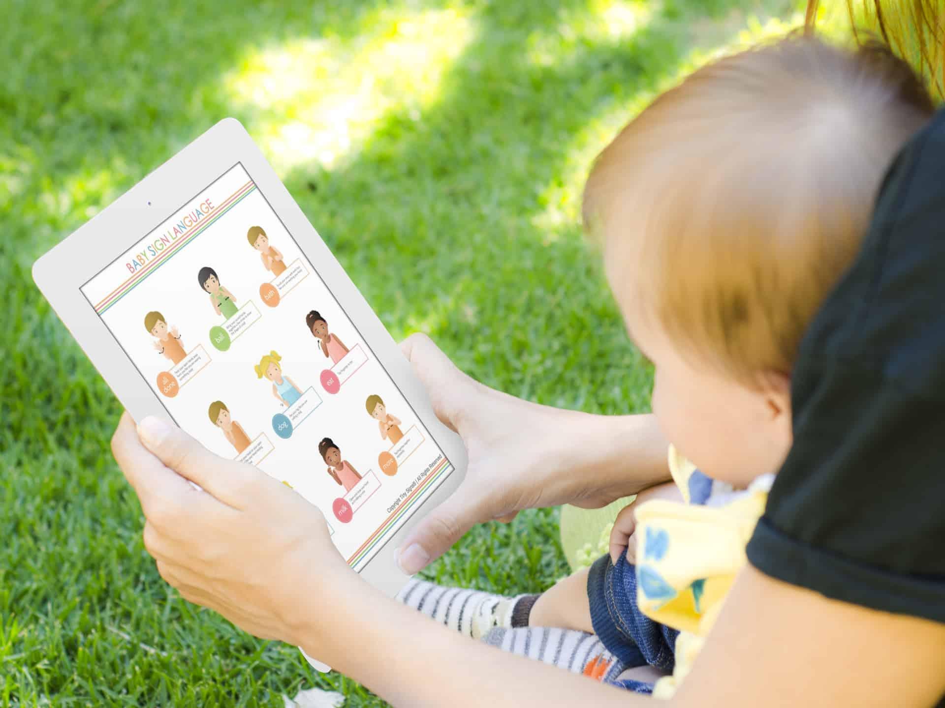 Baby Sign Language Charts