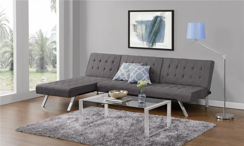 Best Small Sleeper Sofa Dhp Emily Convertible Linen