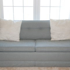 Sofa Reupholstering Sure Fit Slipcovers Clic Neutrals Cover How To Reupholster Sleeper Sofas Easily Tiny Spaces Living