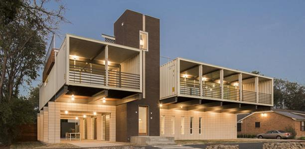 beautiful container home