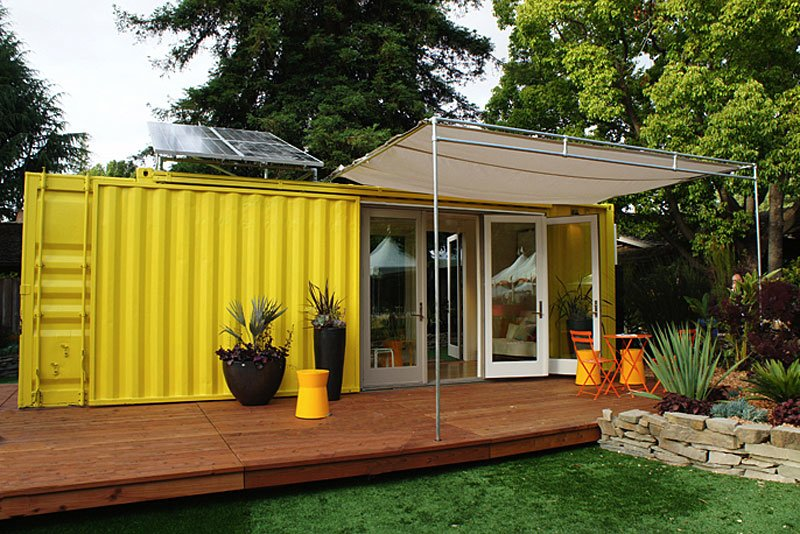 free shipping container home plan