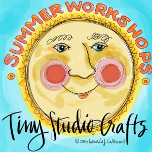 2019 Summer Workshops - JOURNALING & CREATIVE LETTERING - July 22 - 26 (Ages 10 - 14) @ Tiny Studio Crafts | Newburyport | Massachusetts | United States