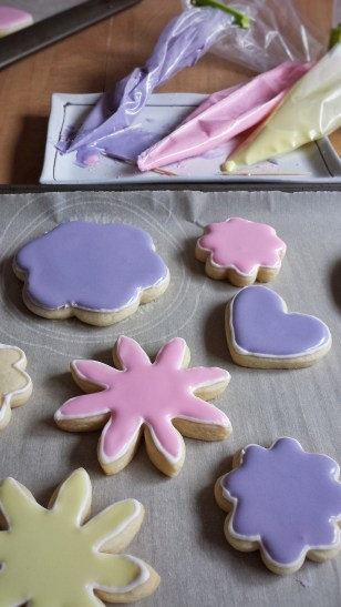 Rose Water Sugar Cookies