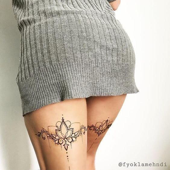 Lace Tattoos_ You Have Never Been So Sexy Before