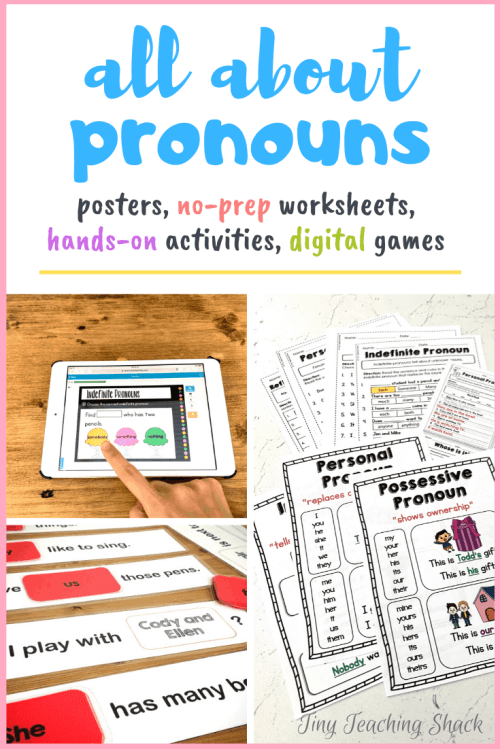 small resolution of Pronouns (personal