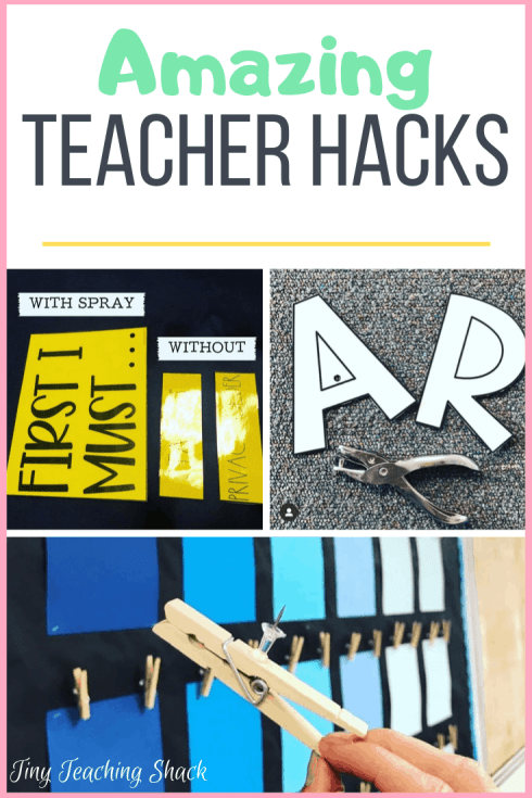 best teacher and classroom hacks for back to school