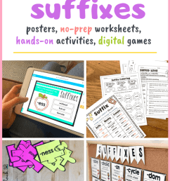 Prefixes and Suffixes Activities and Worksheets - Tiny Teaching Shack [ 1102 x 735 Pixel ]