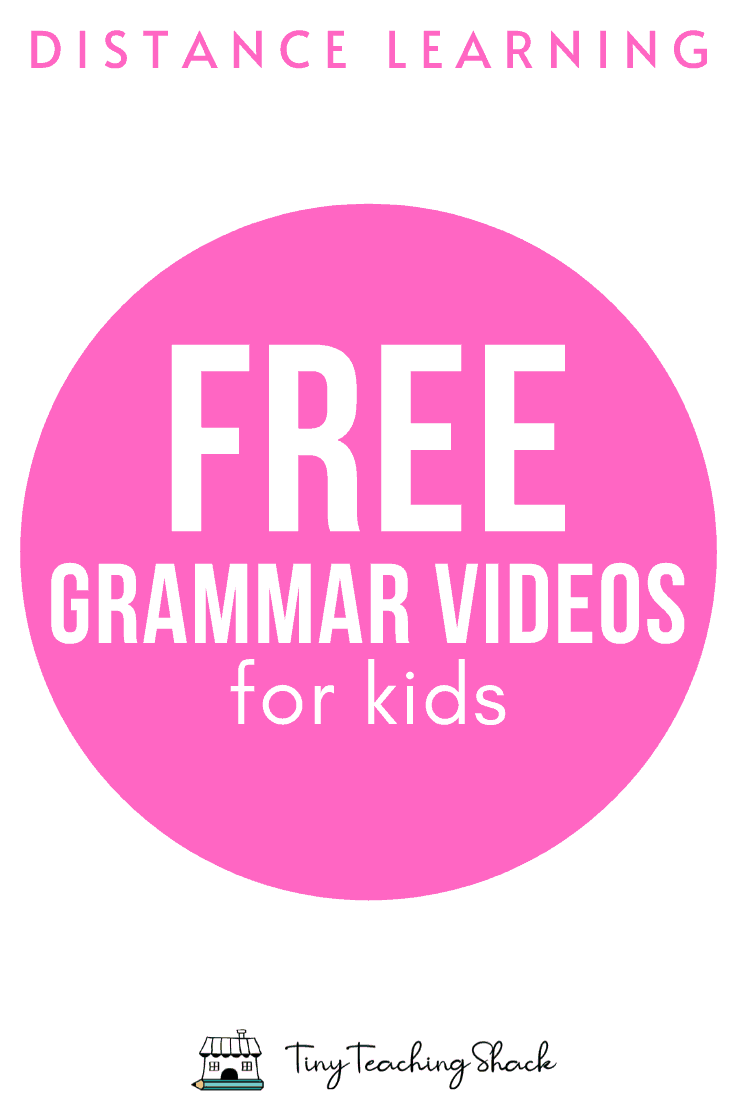 free grammar videos for kids on youtube
