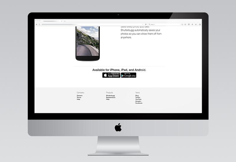 Shutterbugg Website