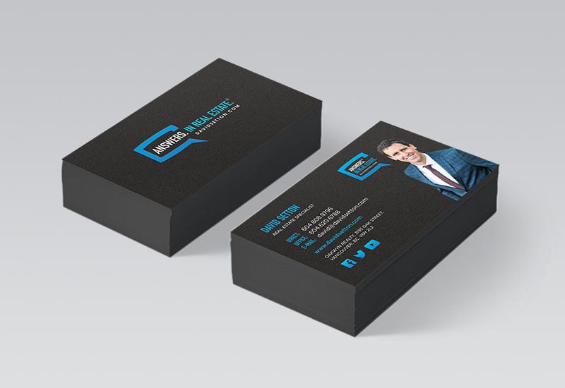 David Setton Business Cards