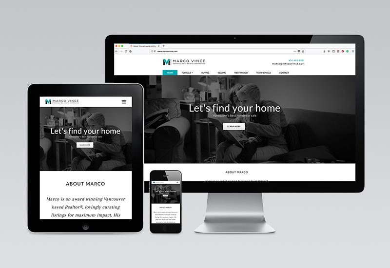Marco Vince Website