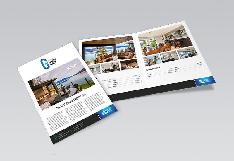 Graeme Veitch 4 Page Feature Sheet