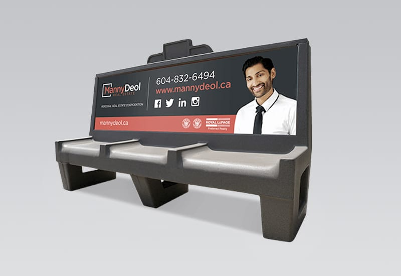 Manny Deol Bus Bench