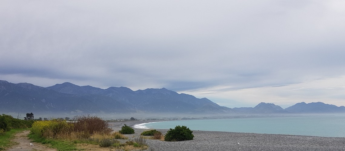 The Kaikoura Coastline